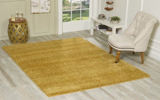 Living-Room-Area-Shaggy-Rugs-Gold-120x170-cm