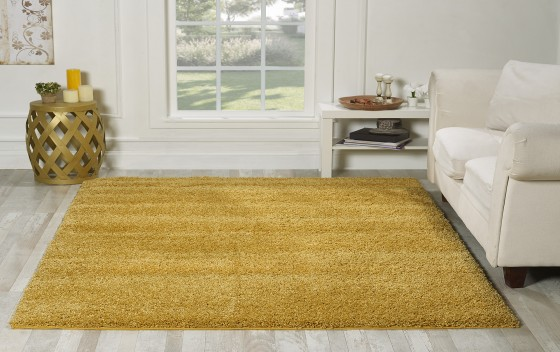Living-Room-Area-Shaggy-Rugs-Gold-Room-160x230-cm