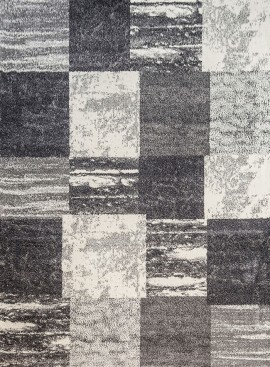 Modern-Silver-Squared-Geometric-Pattern-Rugs-Portrait